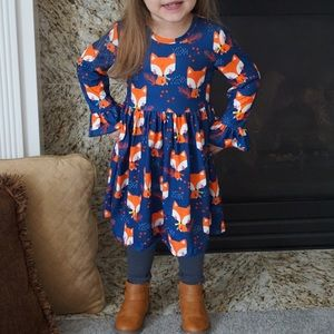 Other - Navy fox dress by Honeydew kids